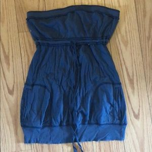 Abercrombie & Fitch Navy Tube Top